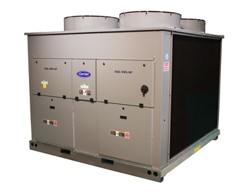 Carrier commercial chiller installation and repair from Degree Heating & Cooling