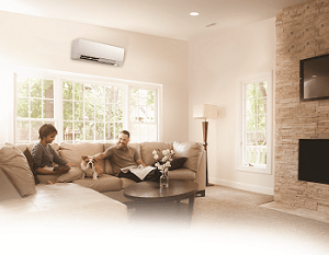 Ductless air conditioning from Degree Heating & Cooling
