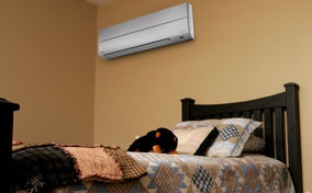 Mini split heating system from Degree Heating & Cooling