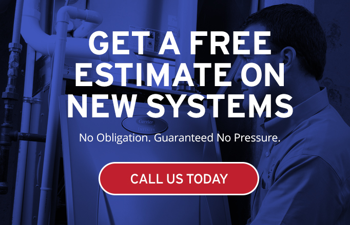 Call today for a free estimate on new systems.